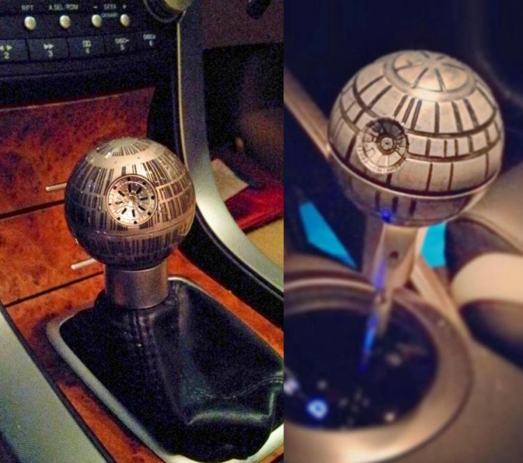 Death Star Shift Knob
