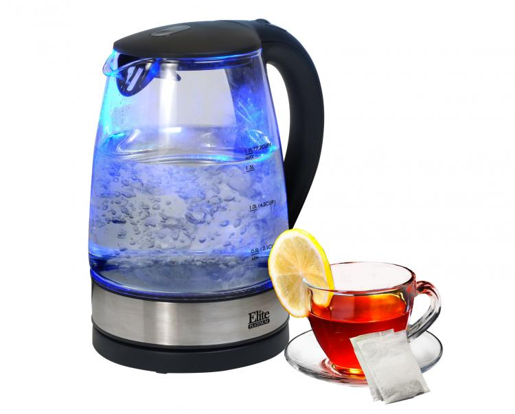 Transparent Glass Electric Kettle