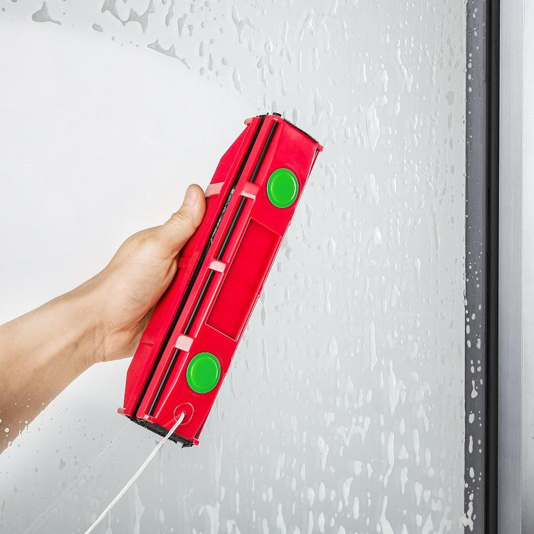 The Glider - Magnetic Window Cleaner - Cleans Both sides of window at the same time
