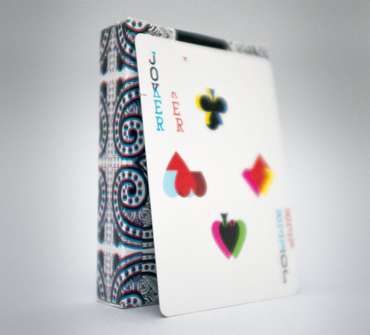 GLITCH Playing Cards Joker