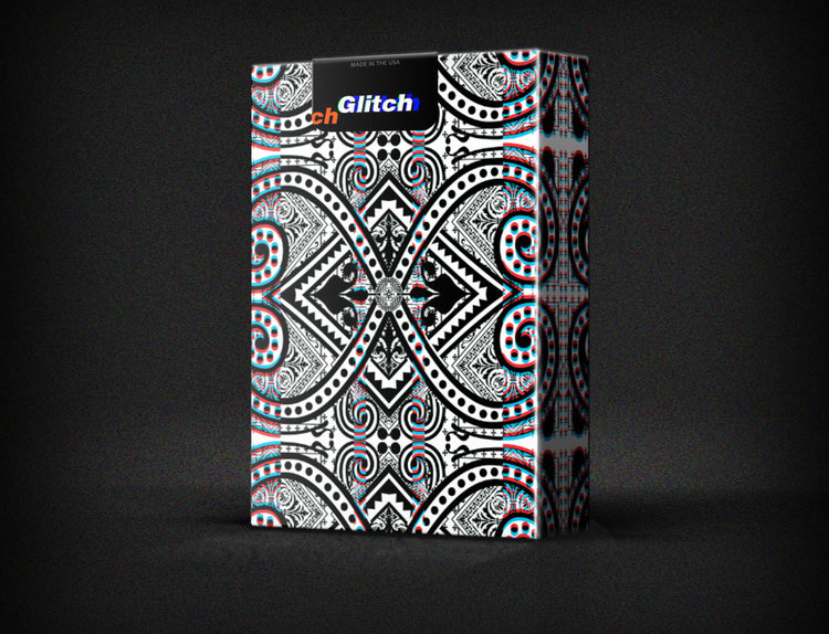 GLITCH Playing Cards Case