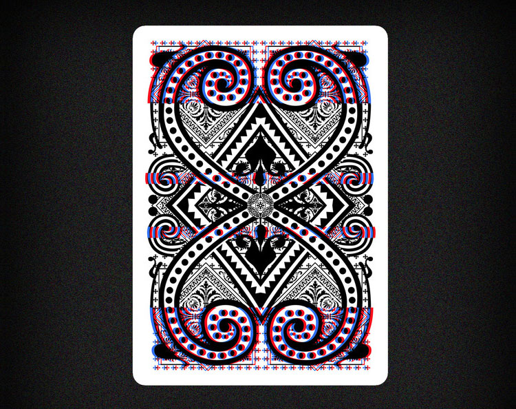 GLITCH Playing Cards - Back of Card