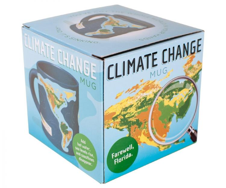 Climate Change / Global Warming Coffee Mug - Disappearing Coastlines Mug
