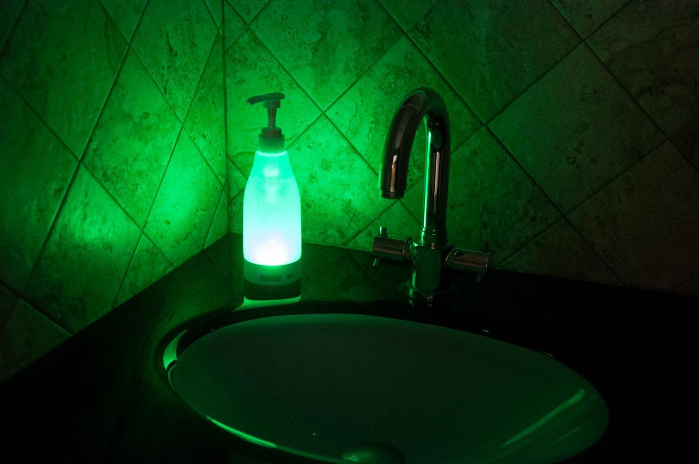 Soap Brite Glowing LED Bathroom Soap Dispenser