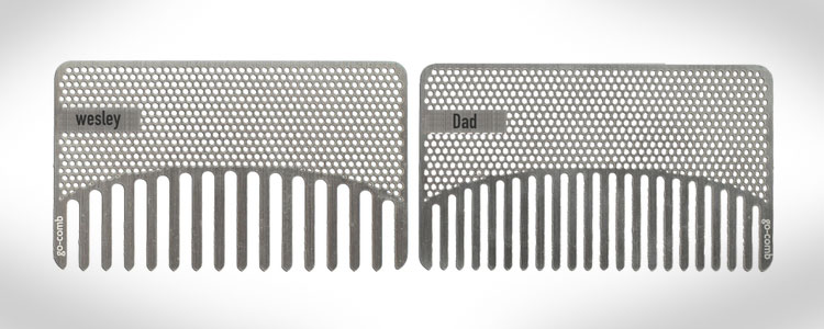 Go-Comb - Credit Card Sized Mirror Comb