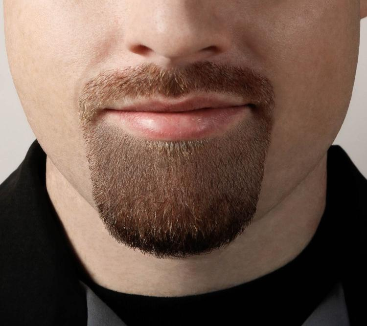 Goatee Saver - Device Helps You Shave The Perfectly Shaped Goatee Every-Time - Goatee Shaper