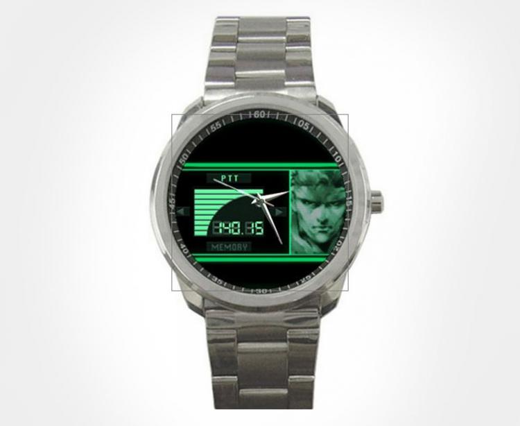 Metal Gear Solid Codec Communicator Wrist Watch Replica