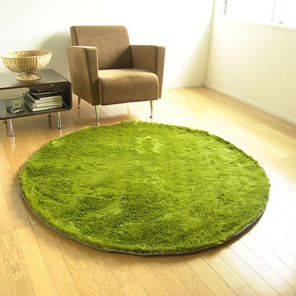 Grass Rug: A Rug That Looks Like It's Made From Grass