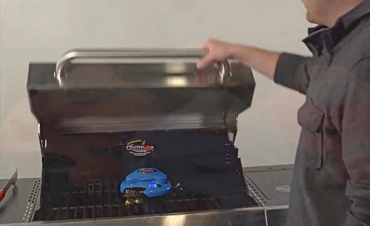 Grillbot A Roomba Like Grill Cleaning Robot