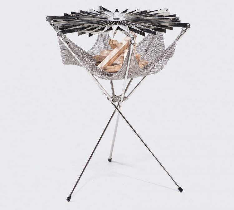 Grillo Portable Stainless Steel Folding BBQ
