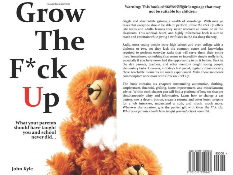 Grow The Fuck Up Book