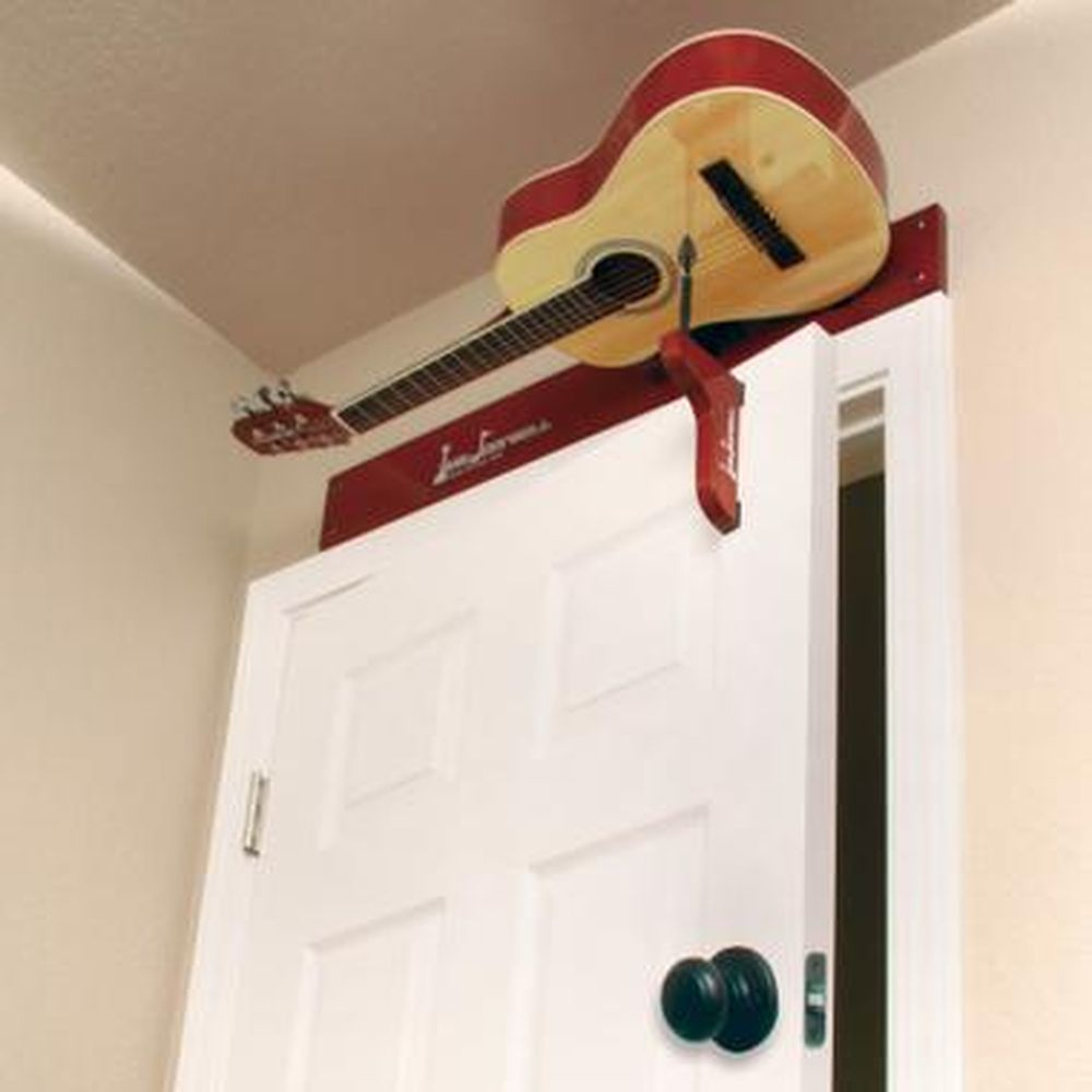 Guitar Doorbell - Guitar Door chime strums guitar each time door is opened