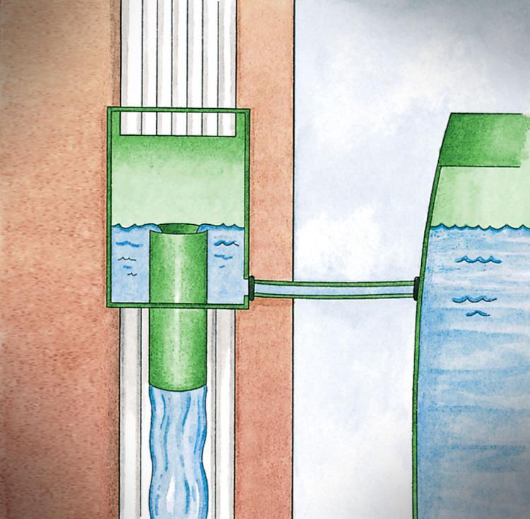 Gutter Downspout Diverter For Rain Barrel