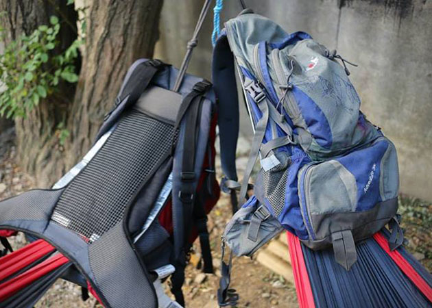 Hammock Backpack - Backpack with a built-in hammock