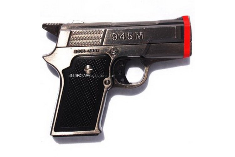 9MM Hand Gun Butane Lighter - Dual flame