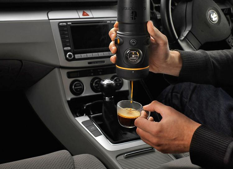 Handpresso Auto Lets You Make Coffee In The Car