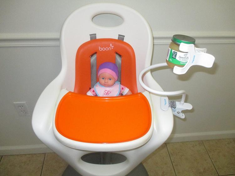 Hands Free Baby Bottle Milk Holder