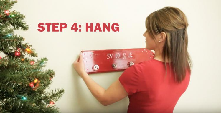 Hang It Perfect A Picture Hanging Tool Helps You Hang Things On