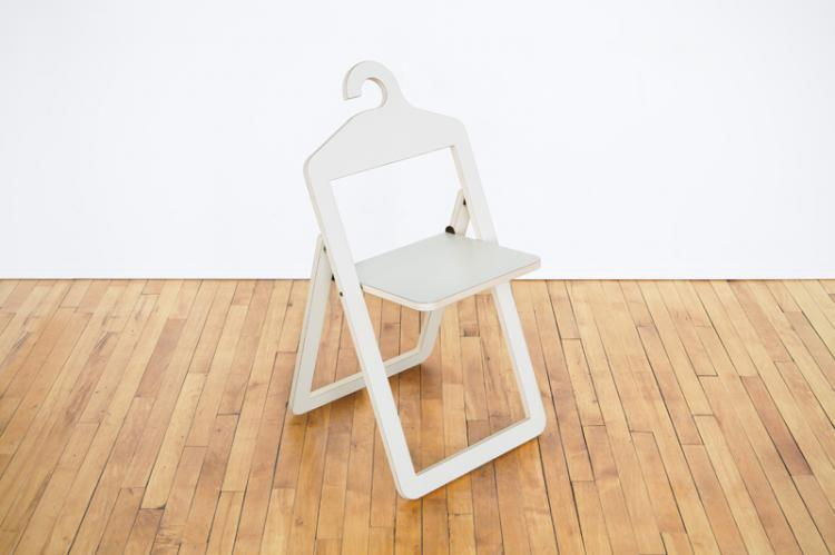 Stupendous Hanger Chair A Folding Chair That Hangs In Your Closet When Not In Use Pabps2019 Chair Design Images Pabps2019Com