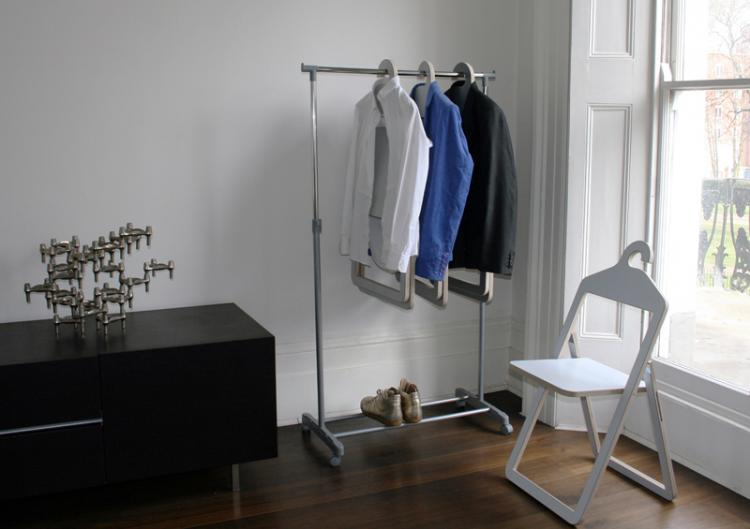Hanger Chair - Folding Chair Hangs In Closet