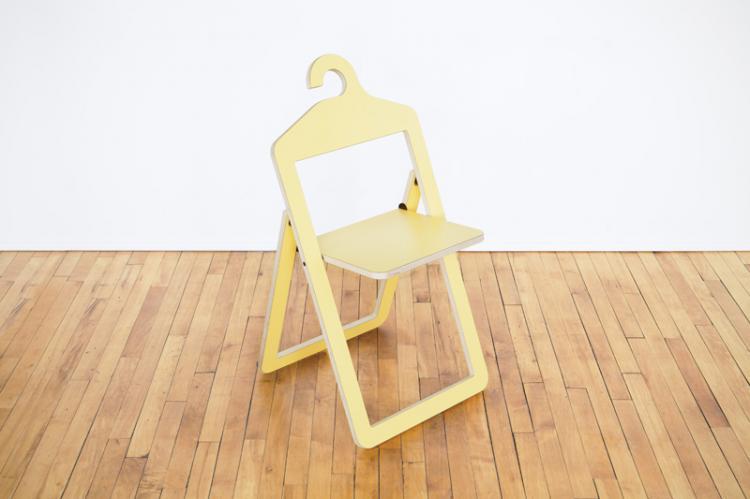 Hanger Chair Folding Chair Hangs In Closet