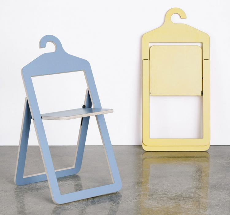 Superb Folding Chair Wall Hangers Hanger Chair A Folding Chair That Hangs In Your  Closet When Not