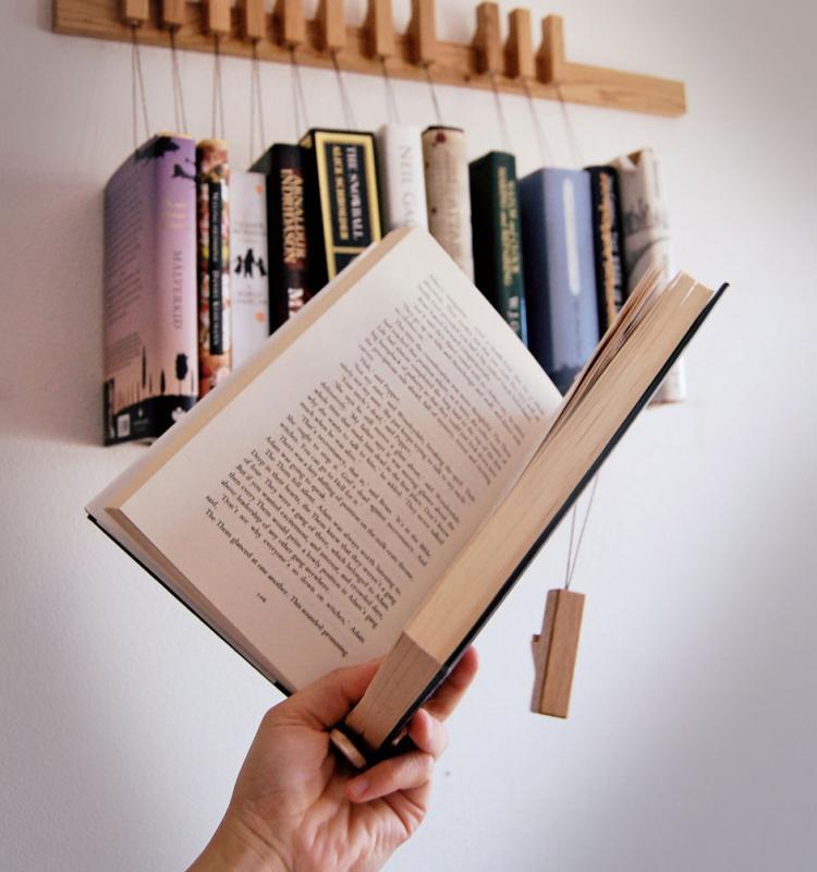 Hanging Book Rack hanging book rack