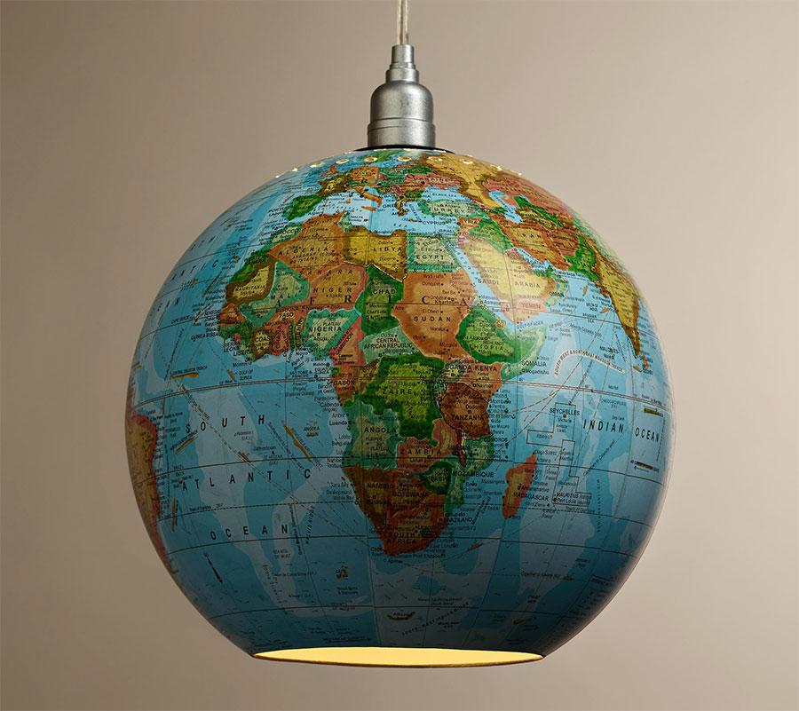 Globes Into Pendant Lights