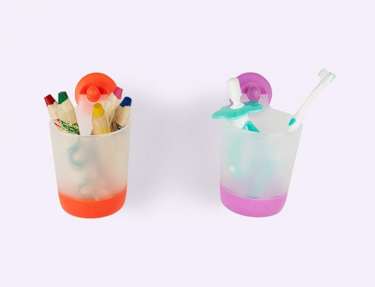 Puj PhillUp Kids Hanging Cups - Refrigerator Hanging Kids Cups