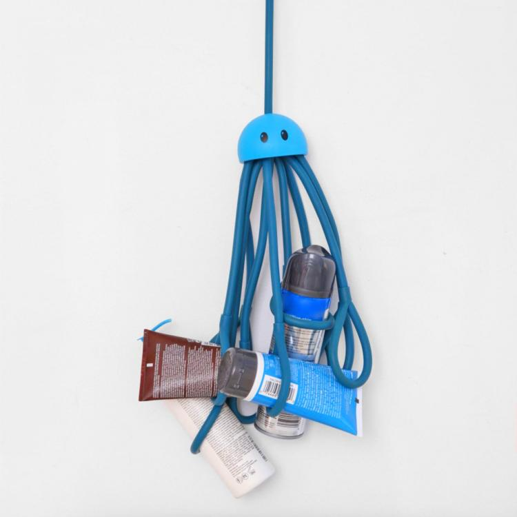 hanging octopus shower caddy