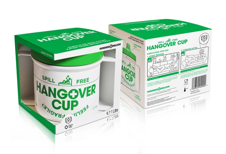 Hangover Cup - Giant Sippy Cup For Adults