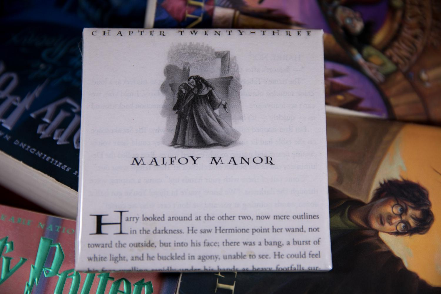 Harry Potter Novel Coasters Let You Read a Page Every Time You Put Your Cup Down