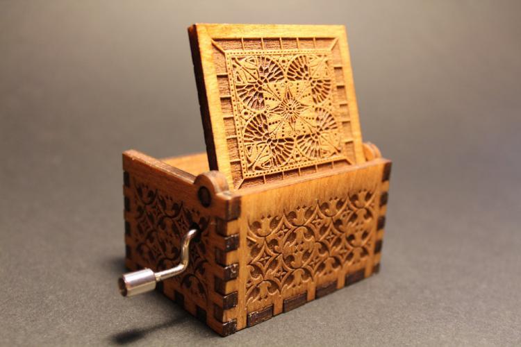 Harry Potter Theme Wooden Music Box