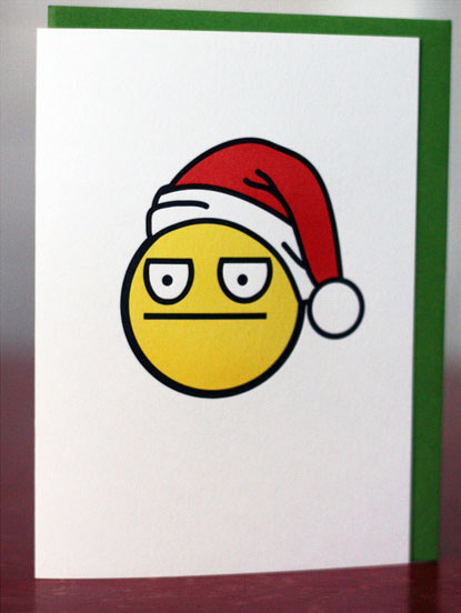 Have a Christmas - Non Emotional Christmas Card