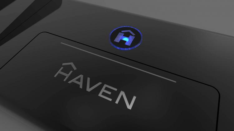 Haven Floor Mounted Smart Door Lock
