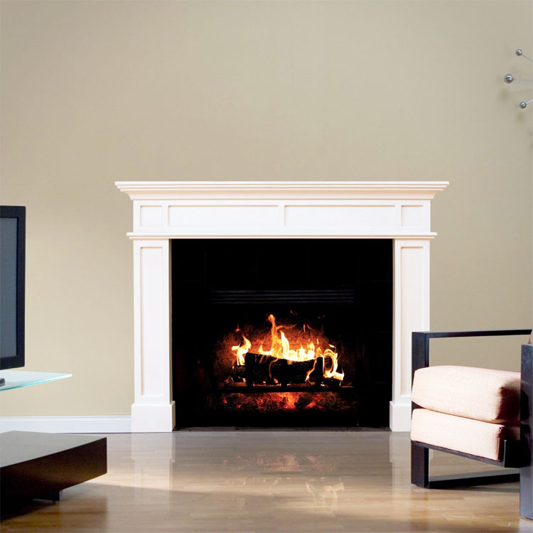 HD Faux Fireplace Wall Decal
