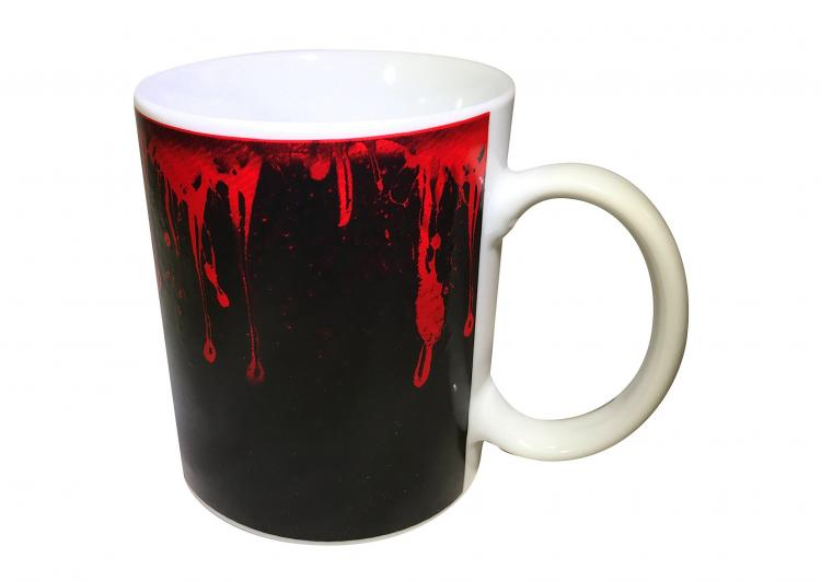 Walking Dead Heat Changing Coffee Mug - Zombie Coffee Mug Makes Zombies appear with hot liquid