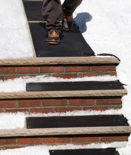 Snow Melting Stair Mat - Heated Stair Mats