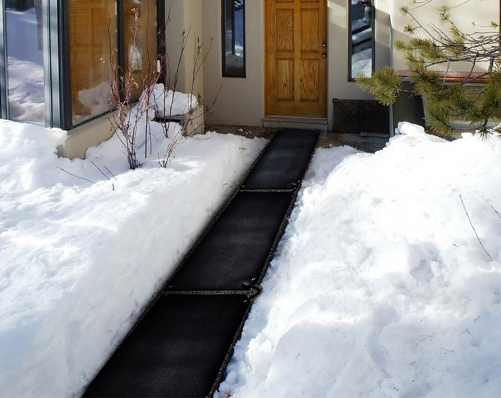 Snow Melting Stair Mat - Heated Stair Mats - Heated walkway paths