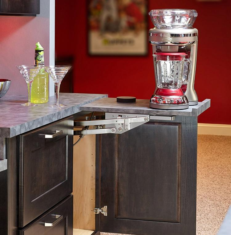 This Heavy-Duty Mixer Lift Lets You Easily Access And