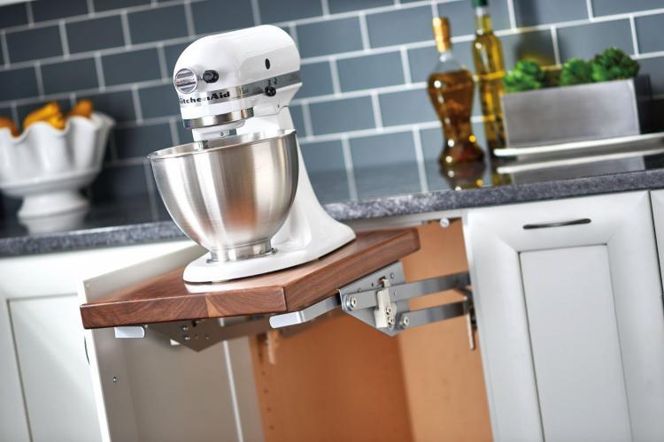 Rev-A-Shelf Mixer Lift : Lift Your Heavy Duty Mixer With Ease