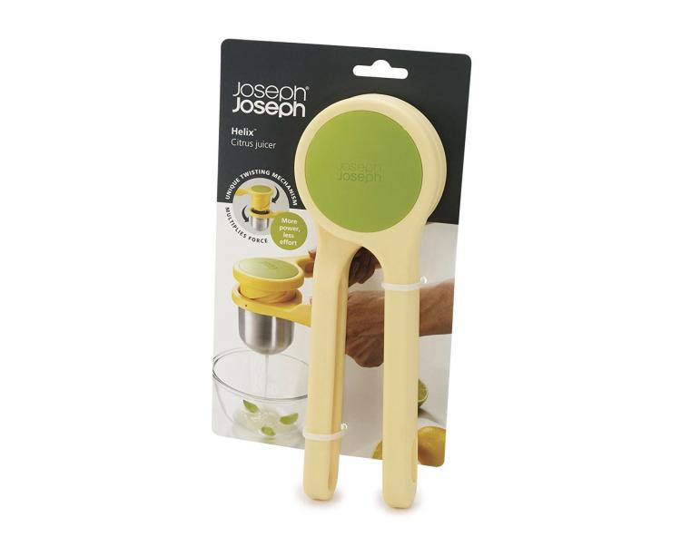 Joseph Joseph Helix Citrus Press - Uses unique twisting action to juice citrus
