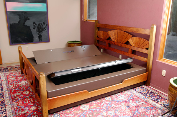 Hidden Furniture Safes That Go In Your Couch Bed Or Ottoman