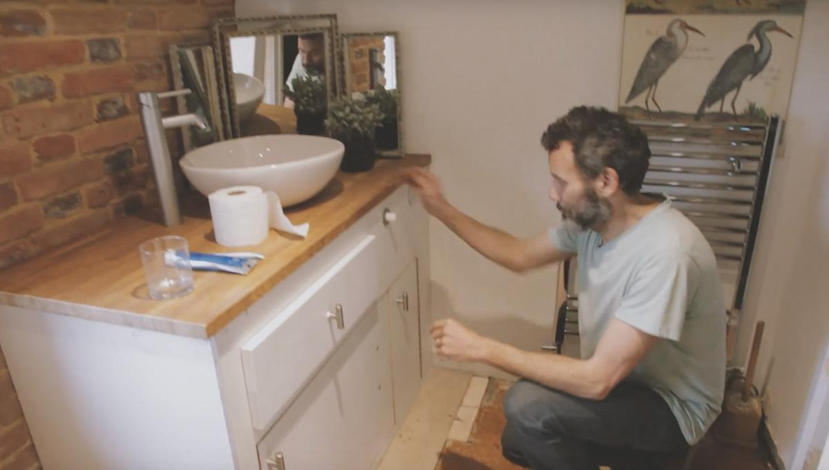Hidealoo Pull-out Hidden Toilet For Tiny Homes - Retractable toilet into cabinet