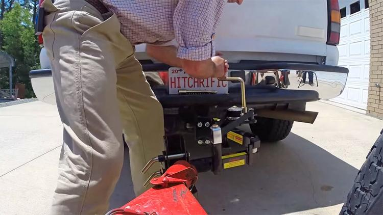 Hitchrific Reel Quik Hitch - Real Quick Hitch - Connect trailer hitch on first try - easy install trailer hitch