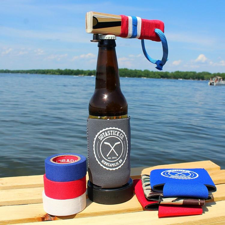 Hockey Stick Bottle Opener