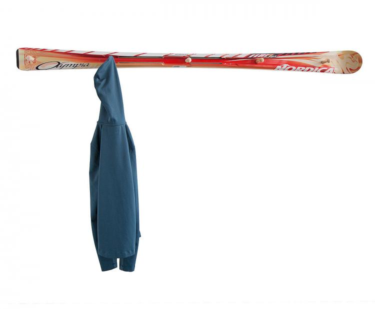 Hockey Stick Broom - Skit Coat Rack