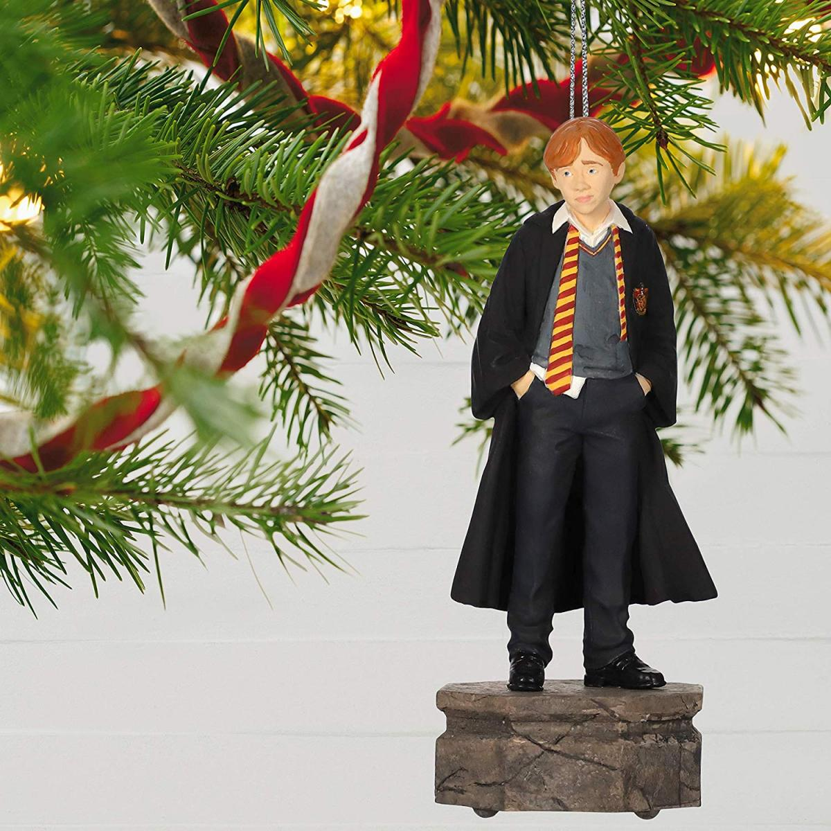 Harry Potter Christmas Tree Topper - Ron Weasley Christmas Ornament