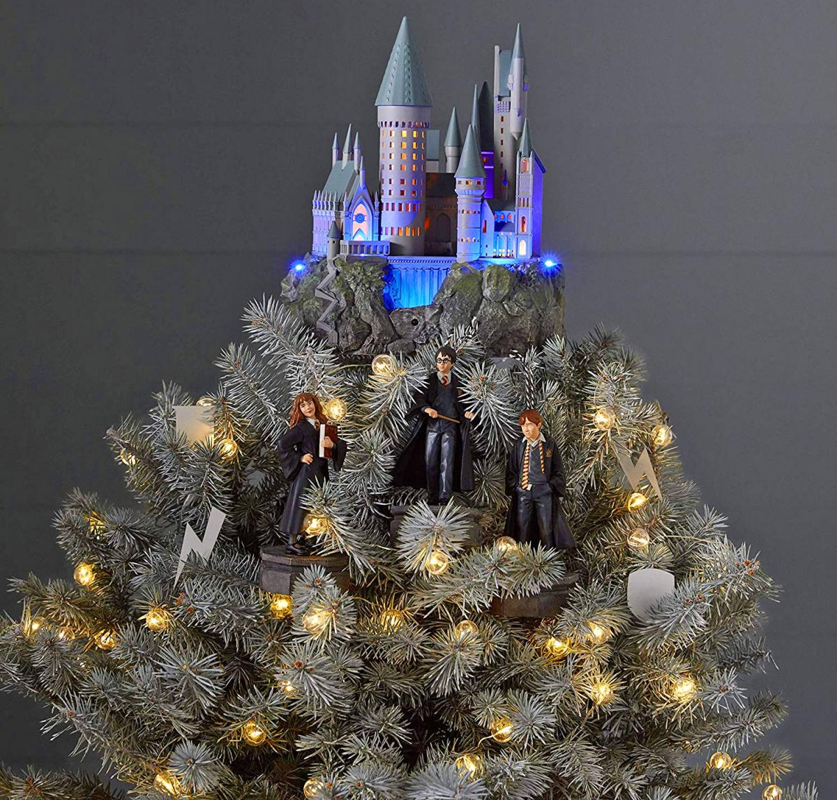 Hogwarts Castle Harry Potter Christmas Tree Topper