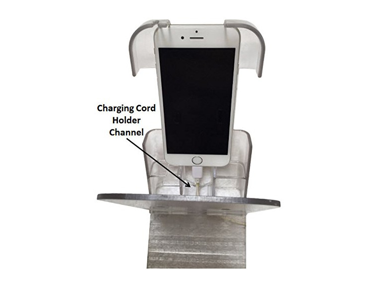 The Holding Cell Is A Bedside Phone Holder And Charger